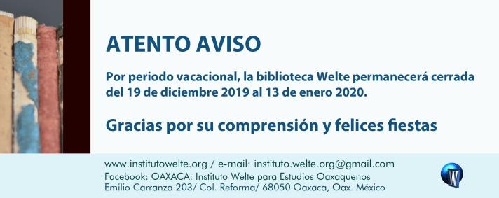anuncio_WELTE_VACACIONES2019 copy